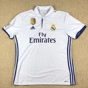 Adidas Ronaldo Real Madrid Polo Jersey size XL